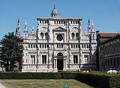 Certosa di Pavia (facciata)