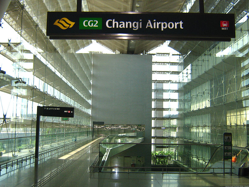 Changi Airport Shops Singapore
