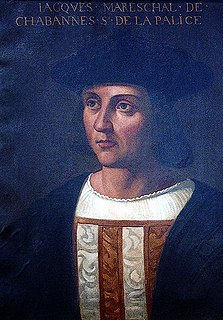 Jacques de La Palice Marshal of France
