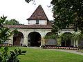 Château de Gaujacq - cour intérieur 5.JPG