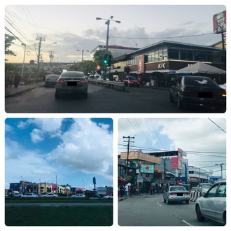 Chaguanas - Chaguanas Main Road and Price Plaza
