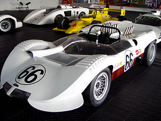 Chaparral Cars - The Chaparral 2A at the 2005 Monterey Historic