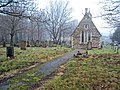 Chapel of rest at Annesley cemetery - geograph.org.uk - 1705106.jpg