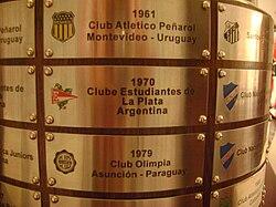 Trofeo de la Copa Conmebol Libertadores  Wikipedia la