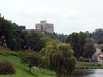 Château de Falaise - Image: Chateau Falaise vu route caen 2
