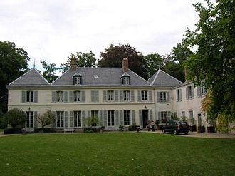 Avrainville, Essonne - The Chateau du Merle Blanc, in Avrainville