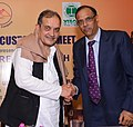 Chaudhary Birender Singh at the Northern Region Customer's Meet, an interaction for increasing steel use in Haryana, organised by the Steel Authority of India Ltd. (SAIL) and Rashtriya Ispat Nigam Ltd. (RINL), in Haryana.jpg