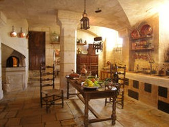 Château de Vendeuvre - The Kitchen