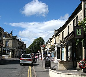 Newbridge, Bath - Image: Chelsea Road, Bath, from south