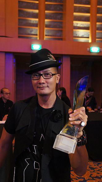 Star Awards - Image: Chen Hanwei Star Awards 2011 1