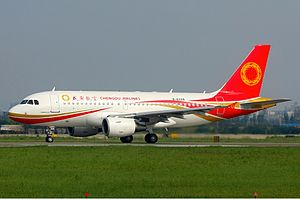 Chengdu Airlines - Chengdu Airlines Airbus A319 at Chengdu Shuangliu International Airport (2010)