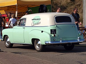 Chevrolet 150 - The Chevrolet Sedan Delivery, was part of the One-Fifty line, and was also designated the 1508 in the truck line.