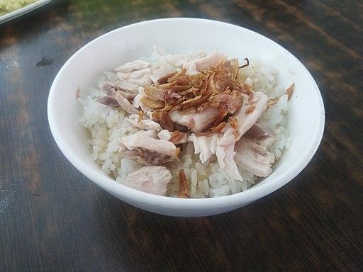 火雞肉飯 turkey rice, Chiayi turkey pilaf