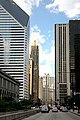 """Chicago (ILL) Downtown N Michigan Ave """" The Magnificient Mile """" (4824462496).jpg"""