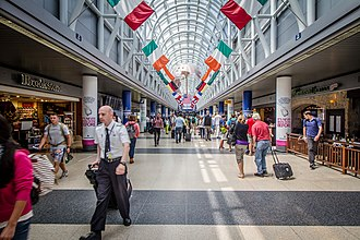 O'Hare International Airport - American Airlines Terminal 3 Main Hall