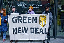 Chicago Sunrise Movement Rallies for a Green New Deal Chicago Illinois 2-27-19 6317 (46321495615).jpg