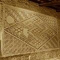 Chiesa di San Salvatore ad Chalchis cosiddetto Palazzo di Teodorico pavimento musivo appeso.jpg