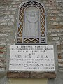 Chiesa di San Venanzio, loggia esterna, edicola Vergine Greca (Coccanile, Copparo) 01.jpg