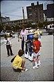 Children and street performer in Toronto (13626180224).jpg