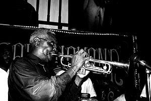"Sonora Matancera - ""Chocolate"" Armenteros on trumpet."