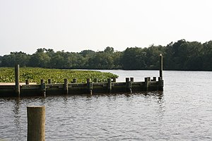 Choptank River - The river in Denton, MD.