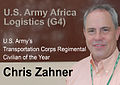 Chris Zahner, U.S. Army Transportation Corps Regimental Civilian of the Year, June 2011 (5841259617).jpg