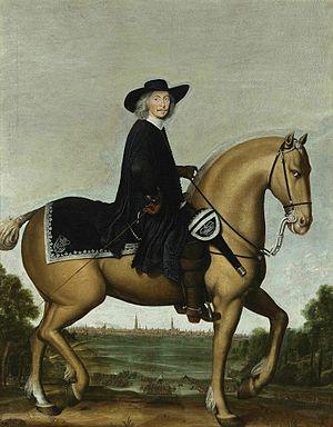Siege of Groningen - Image: Christoph Bernard von Galen on Horse by Wolfgang Heimbach