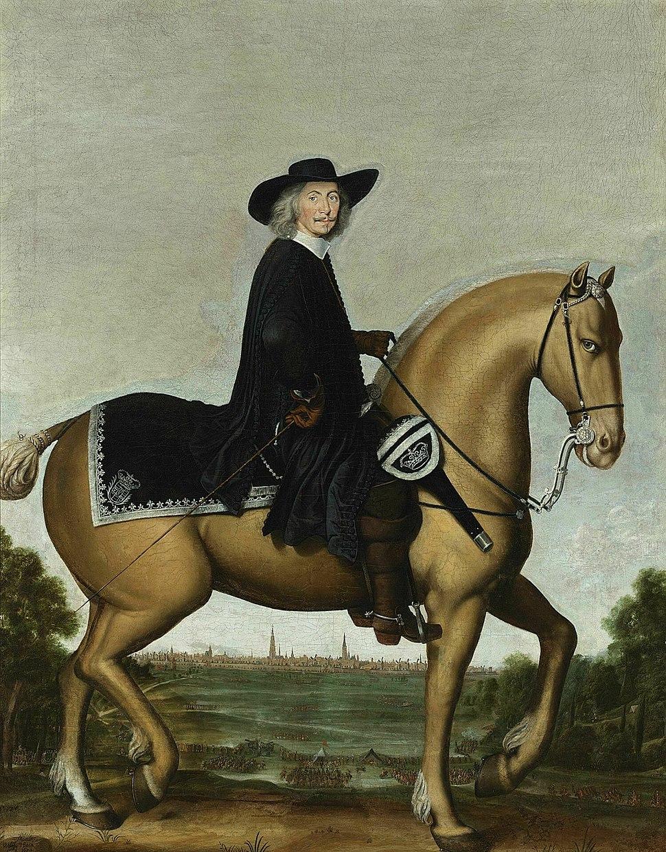 Christoph Bernard von Galen on Horse by Wolfgang Heimbach