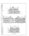 Christopher C. Sturtevant House, 301 Washington Street, Beardstown, Cass County, IL HABS ILL,9-BEATO,2- (sheet 1 of 6).png