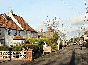 North Bradley - Image: Church Lane geograph.org.uk 623866