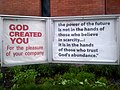 Church Sign -- St. John the Evangelist Anglican Church -- Ottawa, 2012.jpg