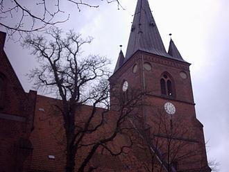 Kolding - Evangelical Lutheran church in Kolding