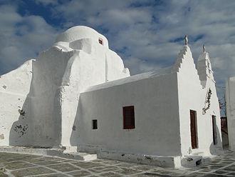 Church of Panagia Paraportiani - Church of Panagia Paraportiani, Mykonos