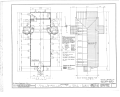 Church of the Holy Family, State Route 157, Cahokia, St. Clair County, IL HABS ILL,82-CAHO,1- (sheet 2 of 9).png