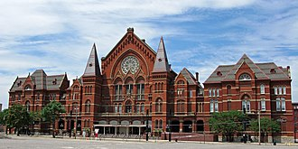 1880 Democratic National Convention - The site of the 1880 Democratic National Convention: Cincinnati's Music Hall