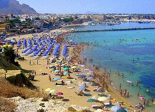 Cinisi Comune in Sicily, Italy