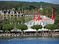 Circus Knie - Theaterstrasse - Sechseläutenplatz - Utoquai - Alpenquai 2014-05-24 19-26-07 (P7800).JPG