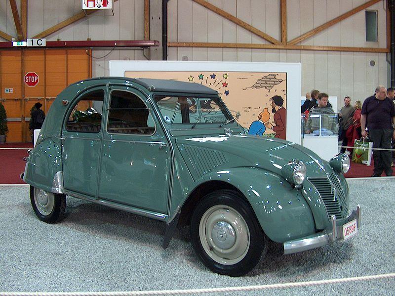 Citroën 2CV de 1949.