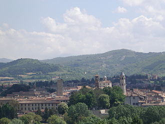 Città di Castello - Panoramic view.