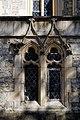 City of London Cemetery and Crematorium Anglican Church chapel west twin light window dappled light 1.jpg