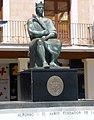 Ciudad Real - Plaza Mayor, Monumento a Alfonso X el Sabio 1.jpg