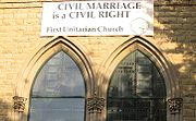 Civil marriage is a civil right
