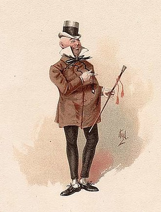 Wilkins Micawber - Mr Micawber by 'Kyd' c.1890