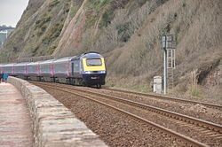Class 43 on the sea wall at Teignmouth (0172).jpg
