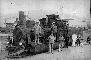 South West African Class Ha - No. 27 as tender locomotive, c. 1910