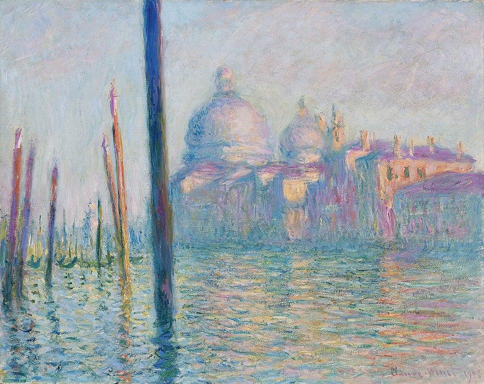 Claude Monet, Le Grand Canal