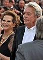 Claudia Cardinale Alain Delon 2010.jpg