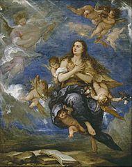 El tránsito de la Magdalena (Antolínez)