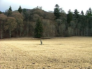 Battle of Killiecrankie - Image: Claverhouse's Stone geograph.org.uk 1752659