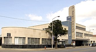 Streamline Moderne - Greyhound bus terminal, Cleveland, Ohio